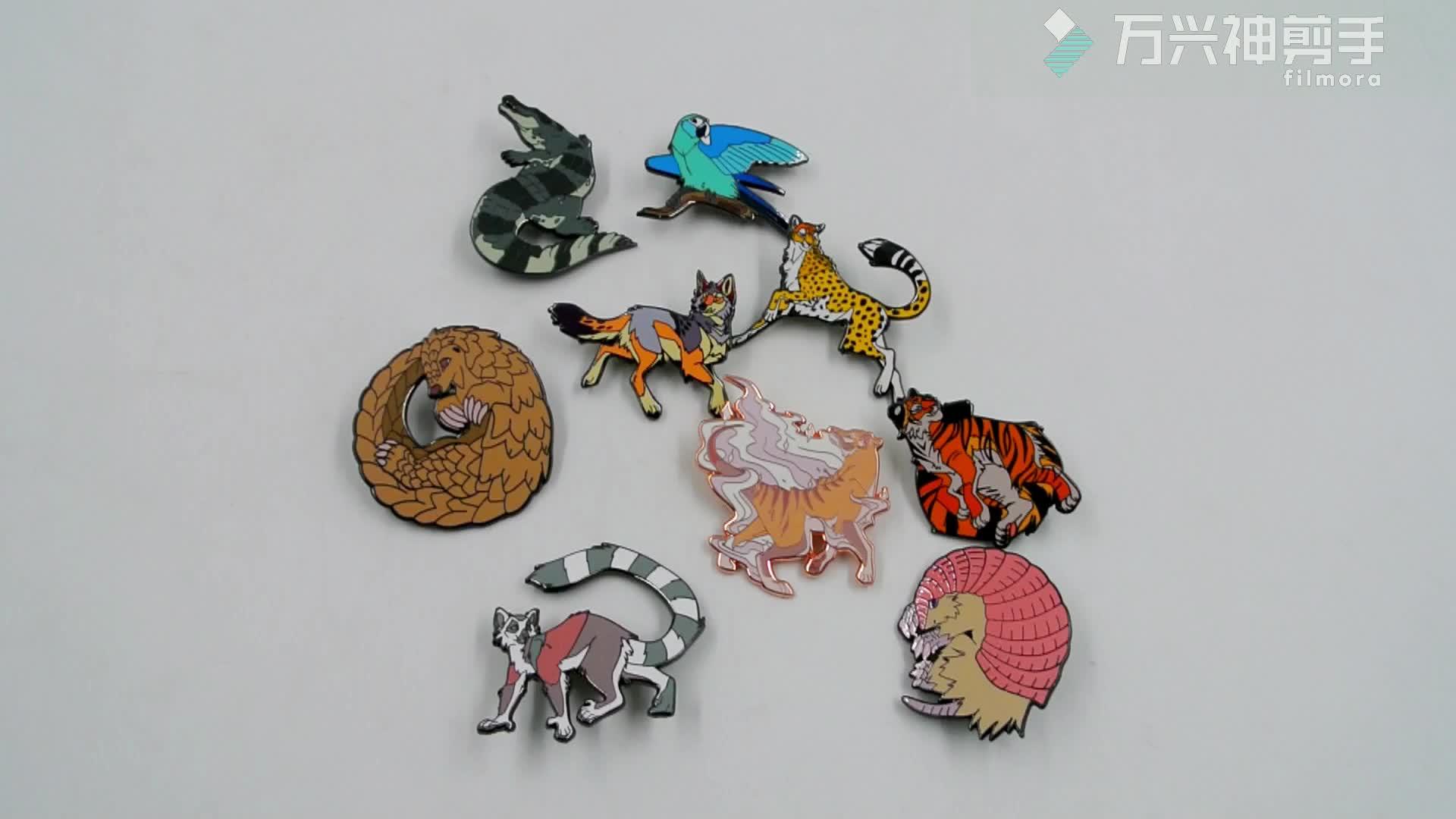 Promotional Custom Soft Enamel Metal Bulk Lapel Pins