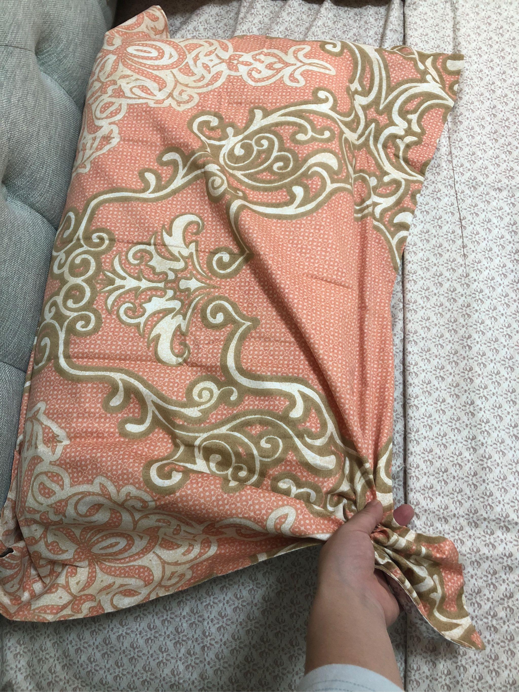水星家纺全棉斜纹印花四件套