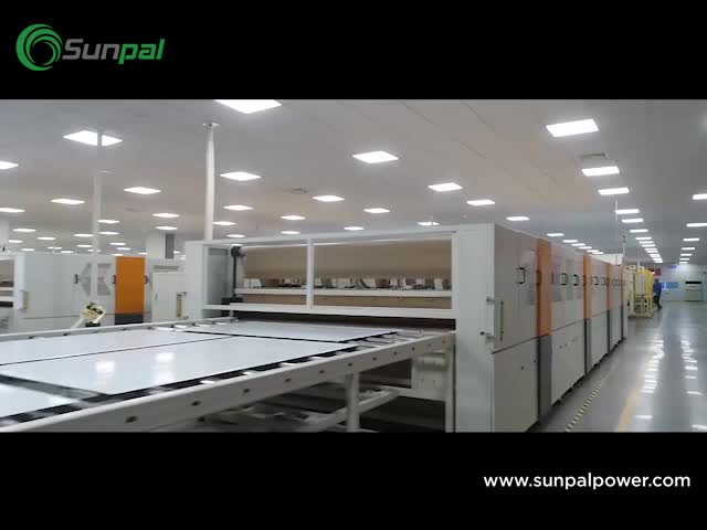 Sunpal Mono Solar Panel 300W 310W 315W 320W 290W 280W Solar Panel Manufacturer Made in China