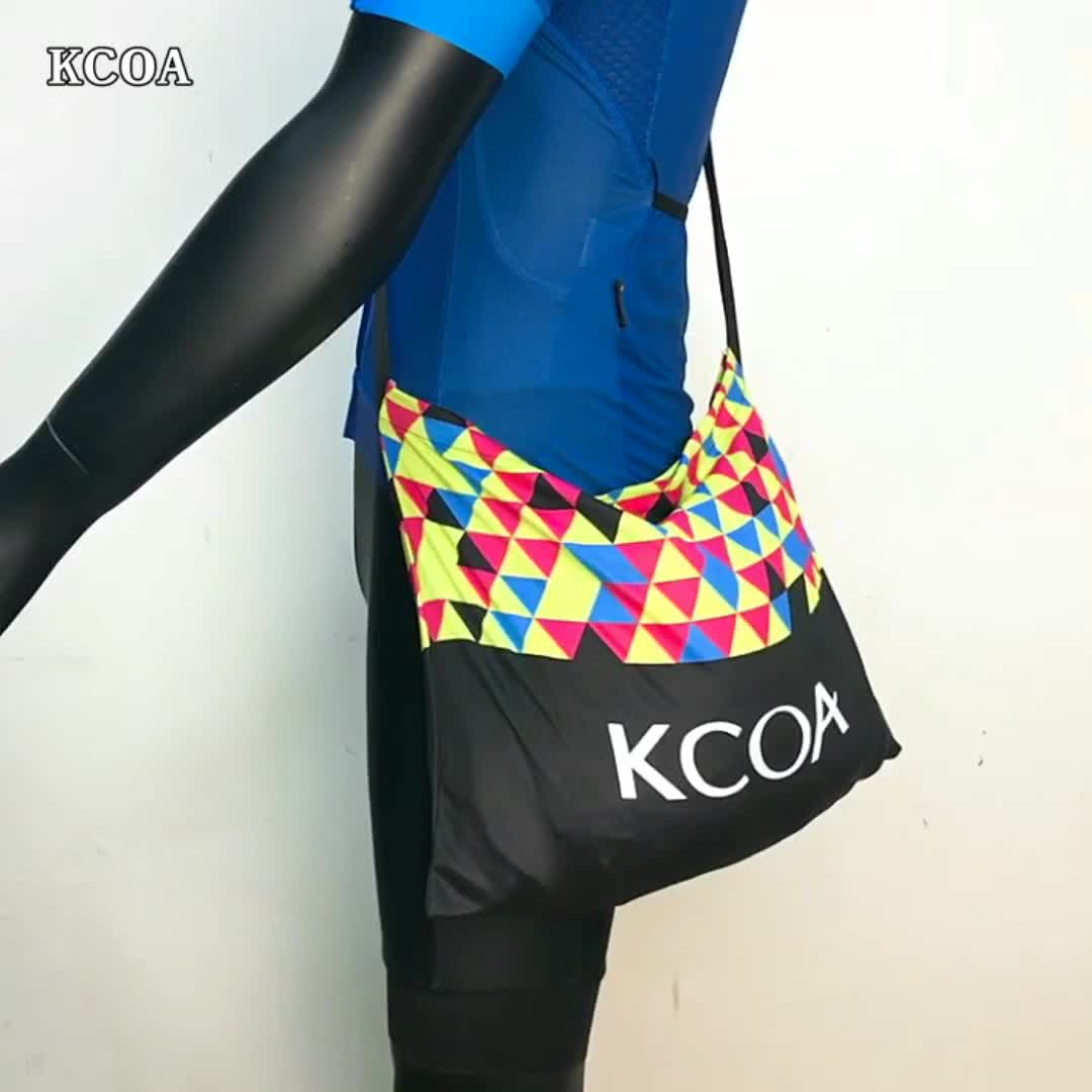 Wholesale OEM breathable coolmax free size sublimation printed cycling musette bag