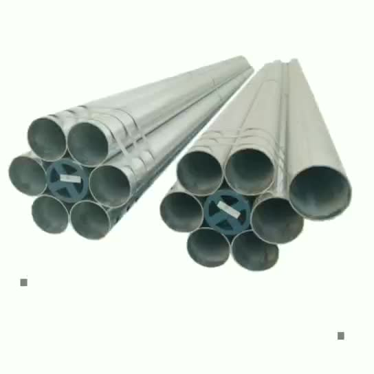 Factory wholesale price list construction material greenhouse pipe used Q235 1.2 thickness galvanized steel tube