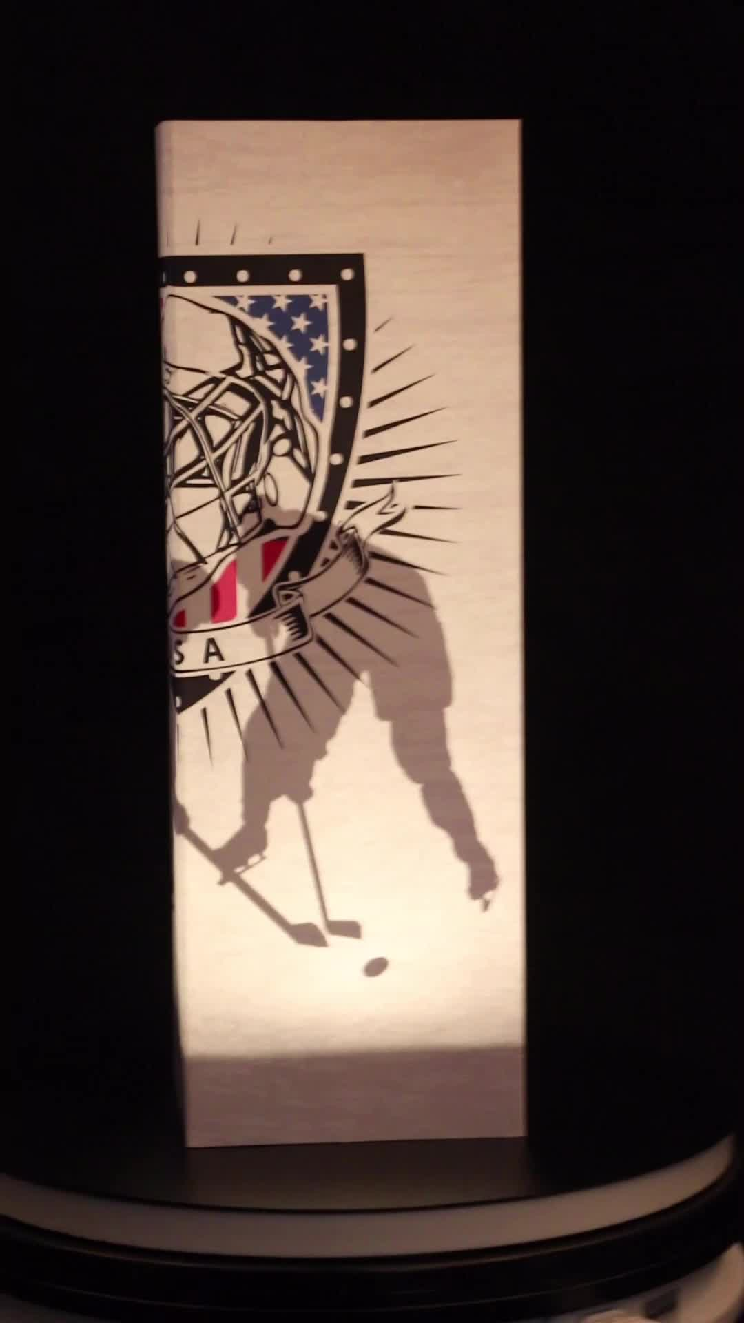 New Design Foldable NBA Basketball Gift LED Lamp