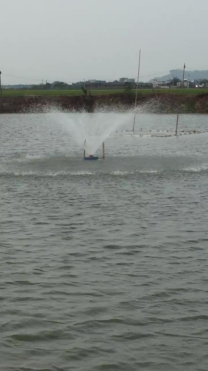 24v 48v 72v 96v ac220v dc300v 380v novo peixe camarão lago agricultura aerador solar para aumentar o oxigênio