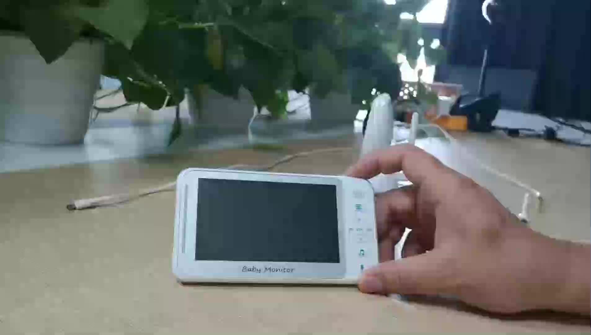 Neue Nanny Amazon Drahtlose Kleine Sicherheit Kamera Zwei Weg Intercom Wifii Nachtsicht Video Baby Monitor für Kleinkinder