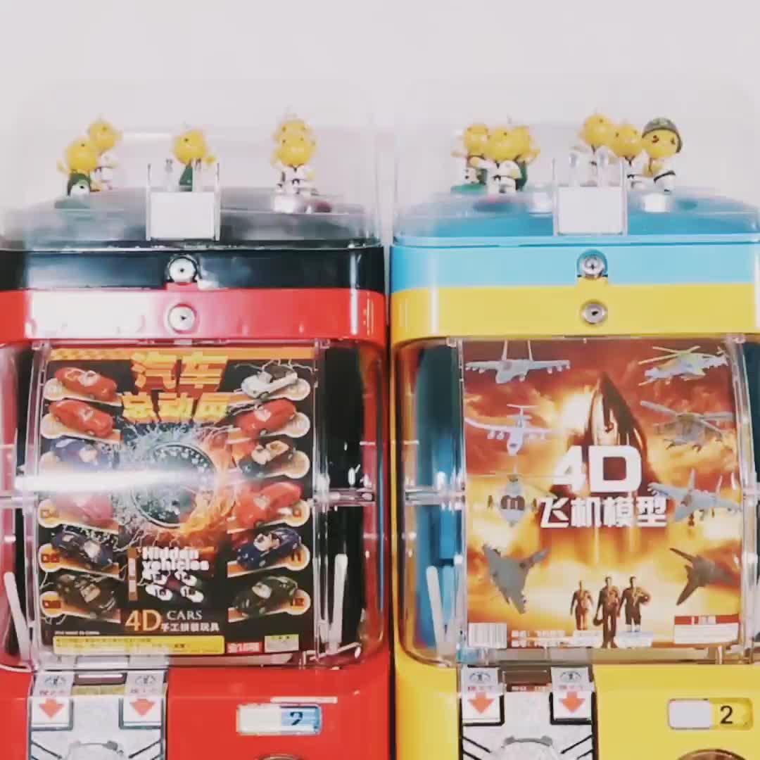 wholesale capsule gashapon vending machine toys vending pusher machine