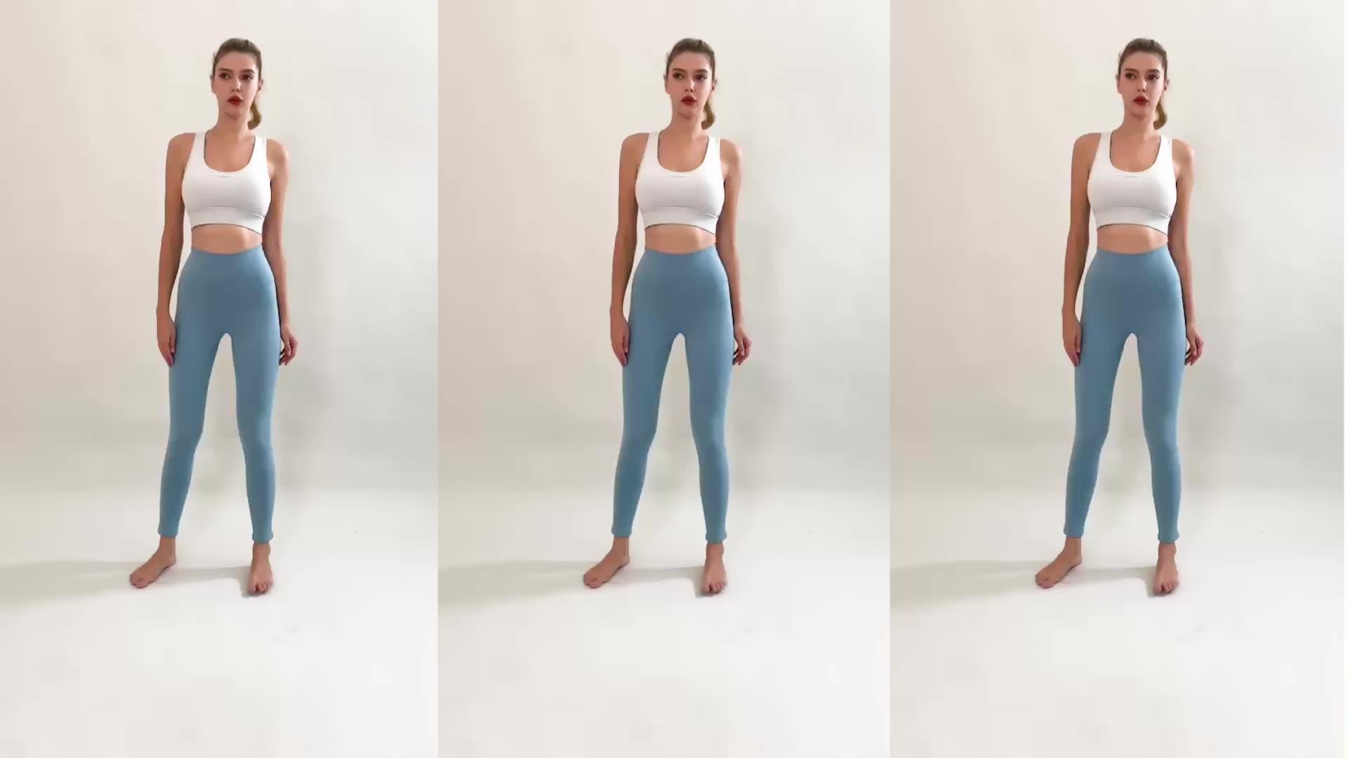 थोक खेल जिम पहनने कस्टम मेष चिंतनशील जिम फिटनेस योग पैंट पॉलिएस्टर और स्पानडेक्स जिम पहनने