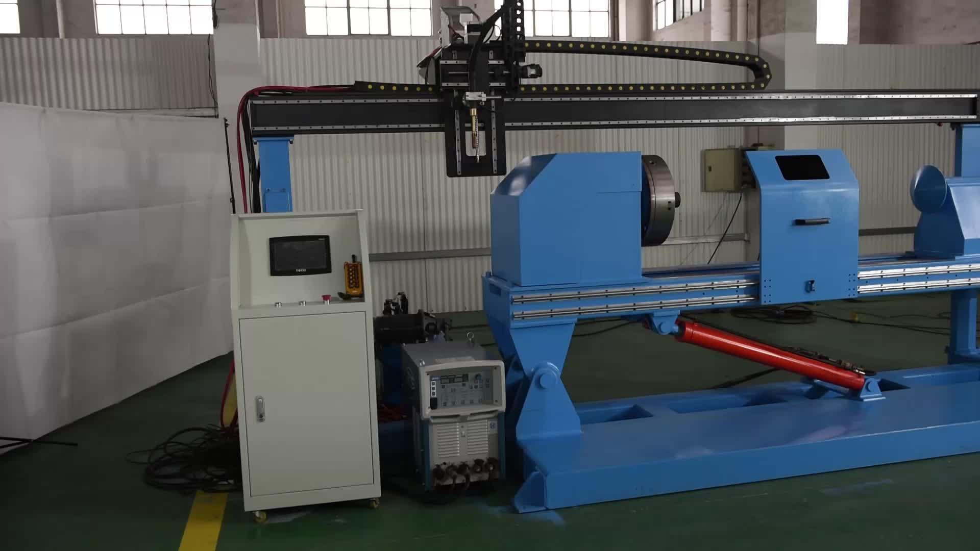 Özel makine için çevresi dikiş kaynak Harici silindir dikiş kaynak makinesi hidrolik silindir için