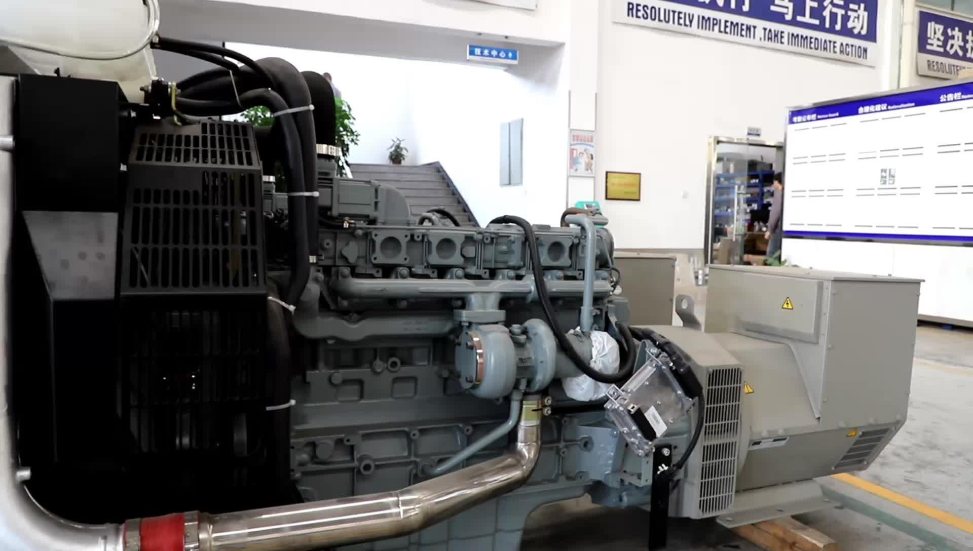 Personnalisé Simple/Triphasé Aksa 2kva Générateur Diesel 80kva