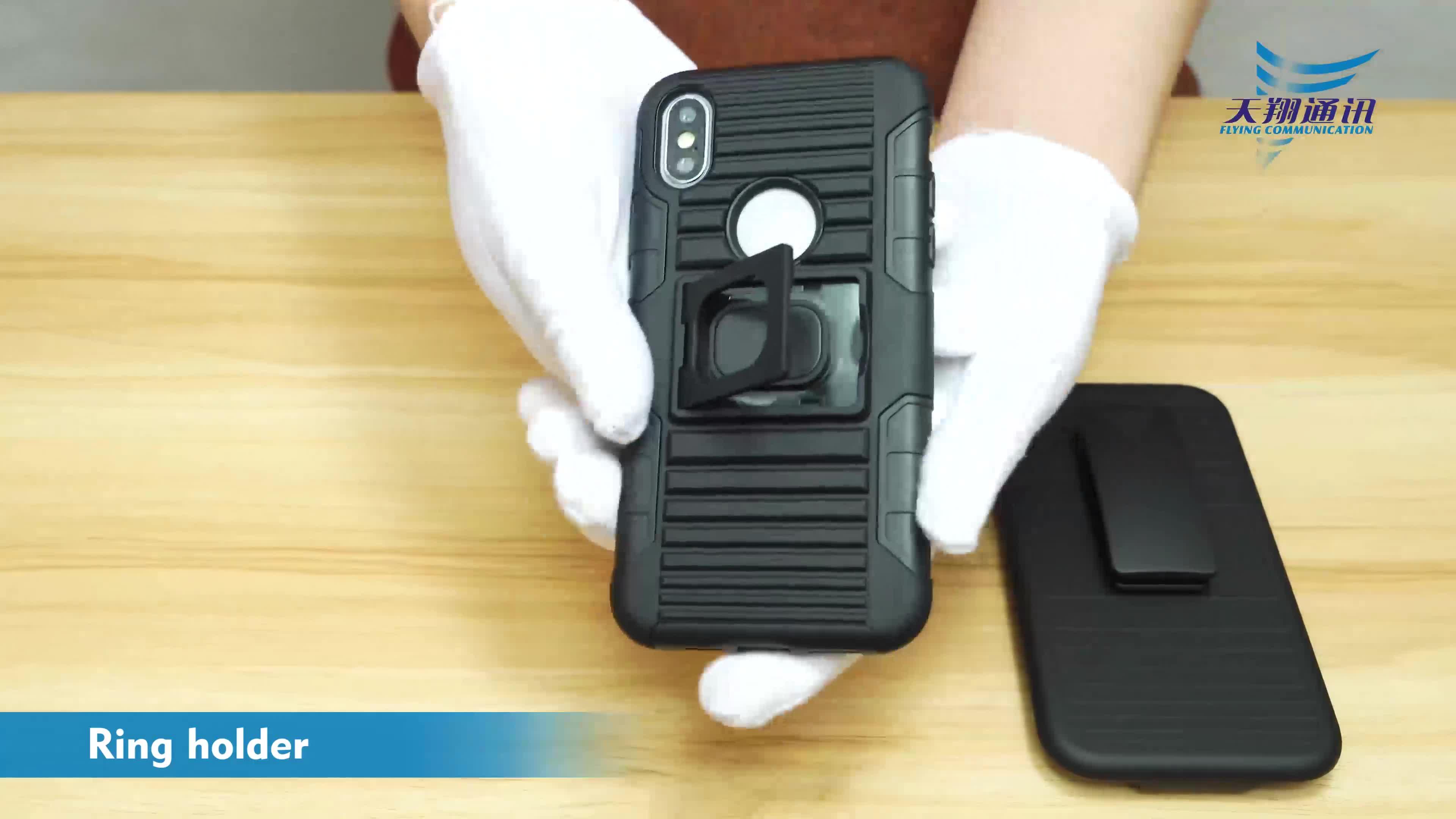 Prodotto originale clip da cintura cellulare casi cassa del telefono mobile per Huawei Nova 3