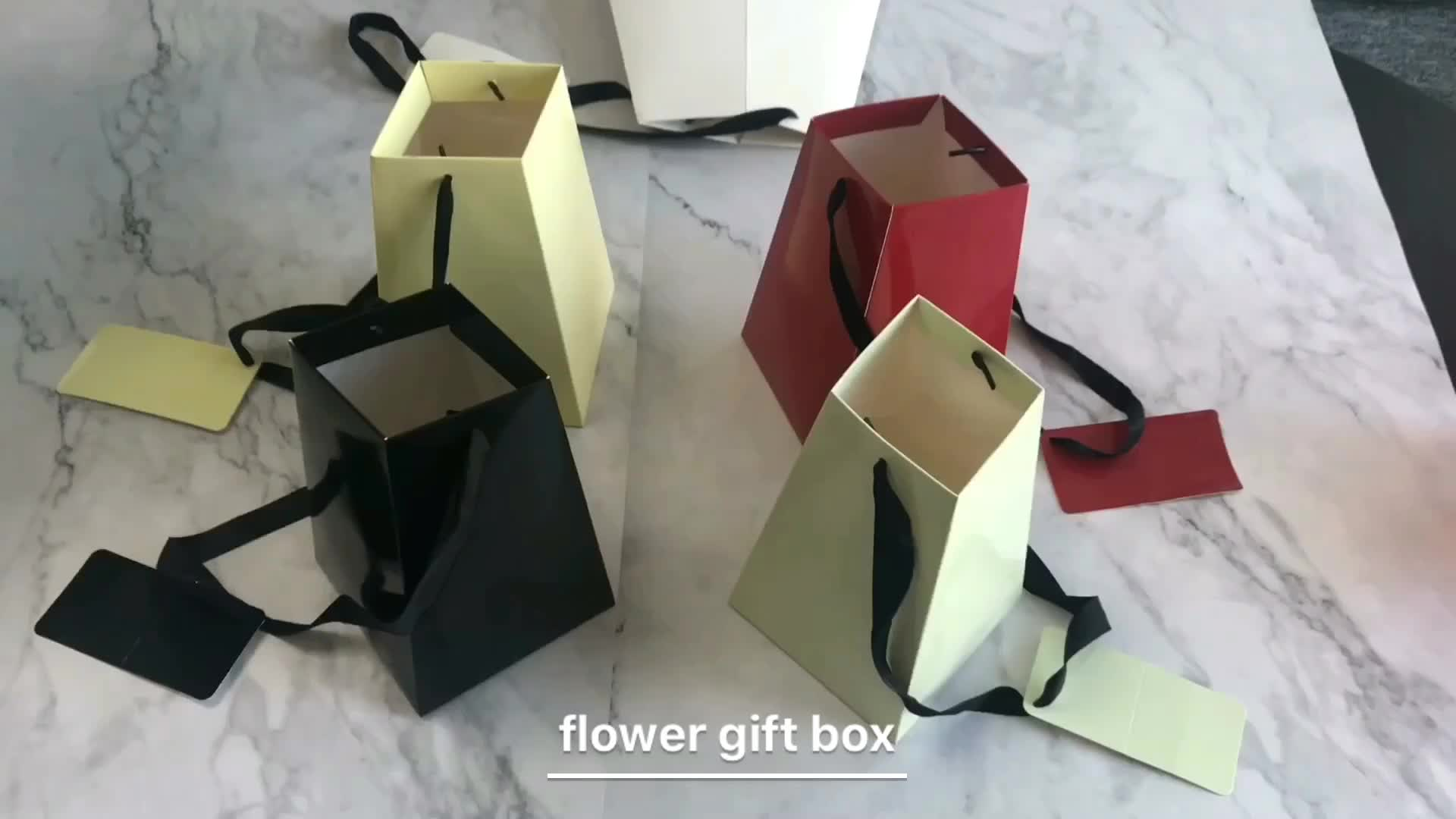 Hot sale high quality cheap custom waterproof flower box paper box