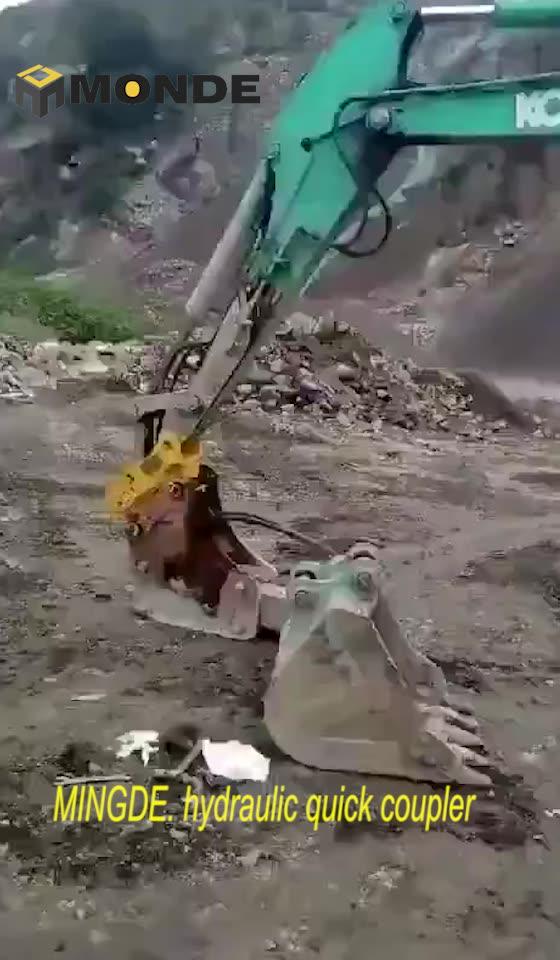 MKY10T mini excavator bucket quick hitch couplers