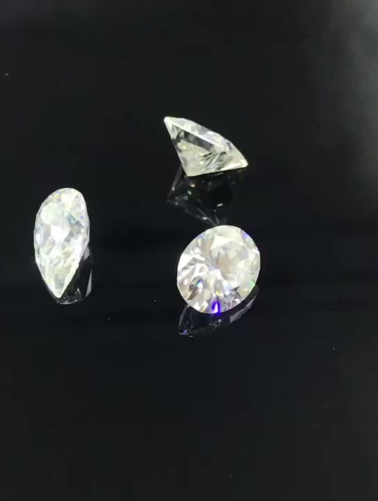 synthetic oval shape moissanite diamond price per carat