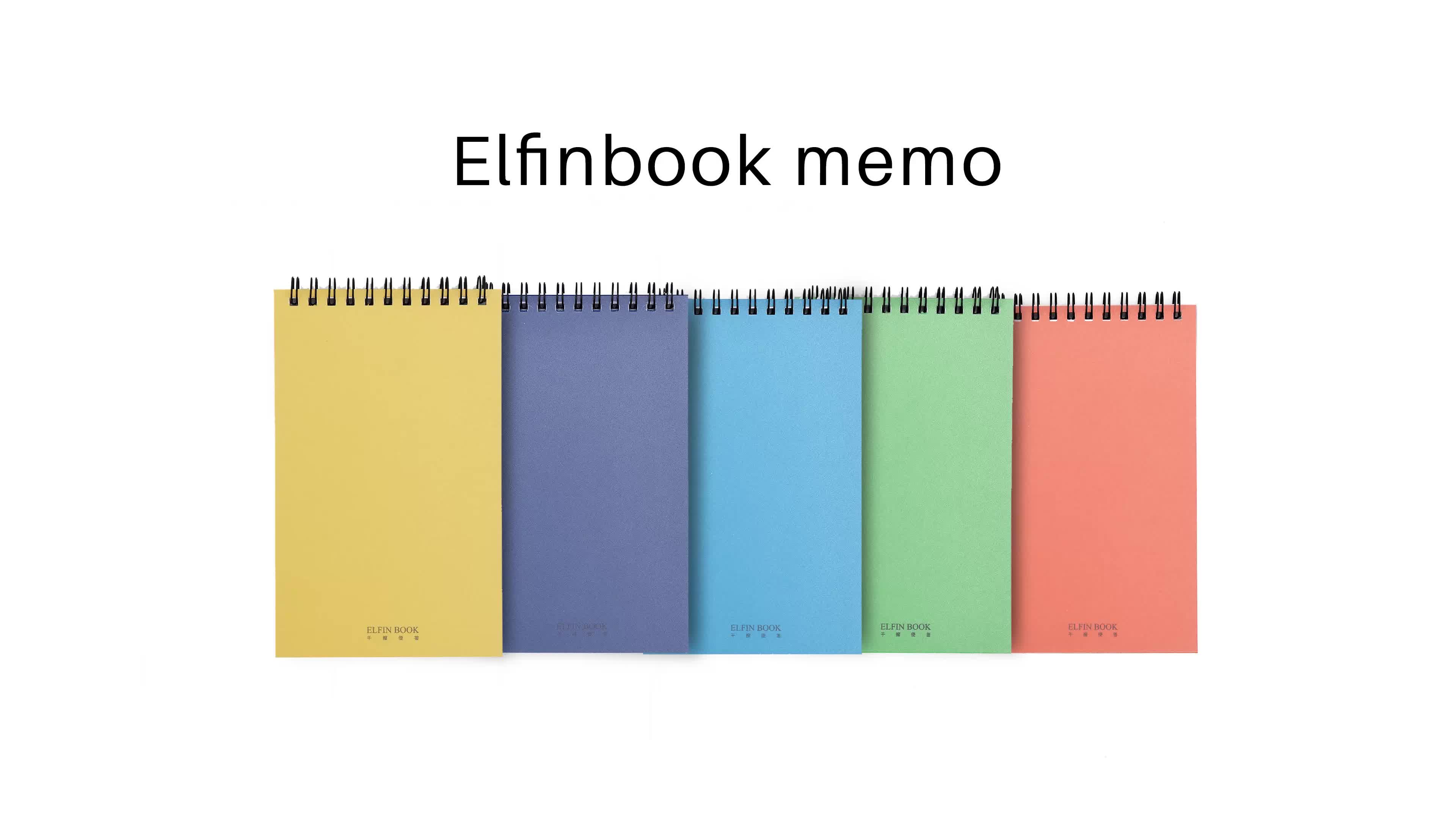 Promotionele herbruikbare uitwisbare sticky notes/hard cover sticky notepad/pocket memo pad met cloud storage en pen