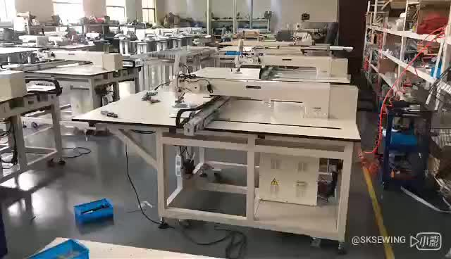 Automatic Computer CNC template pattern sewing machine for clothing