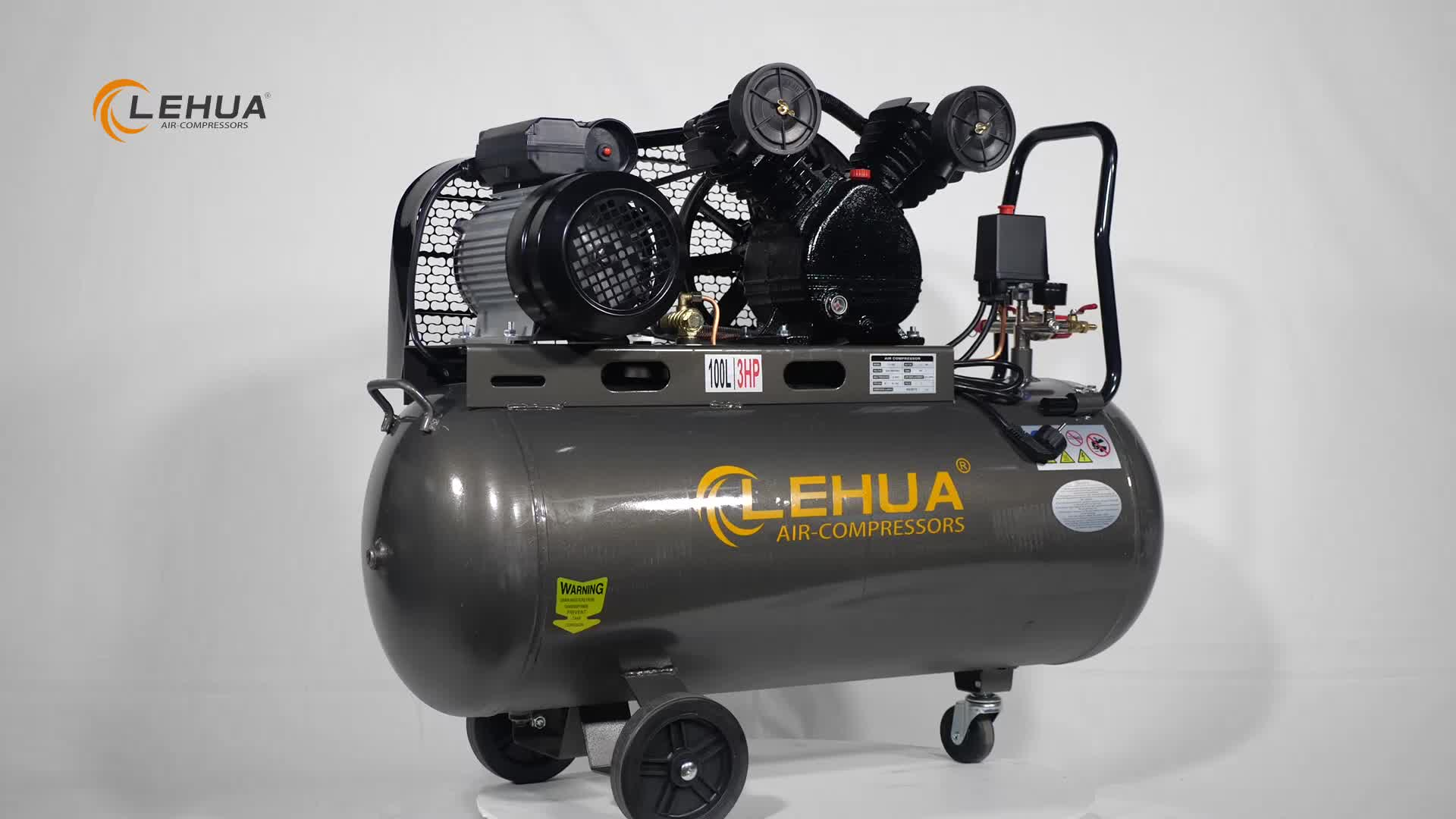 คุณภาพสูง 110 v kompressor/200l/min 10hp คอมเพรสเซอร์ลูกสูบ