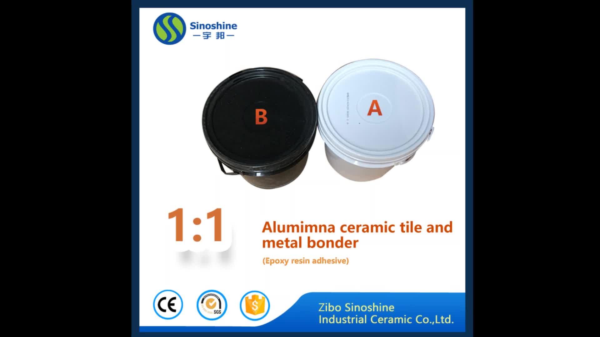 Adesivo da telha cerâmica de alumina