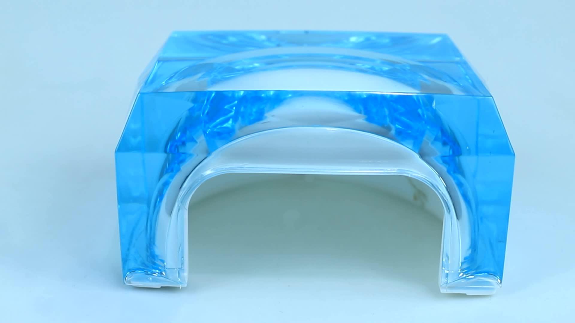2020 New Design Transparent Professional Uv Led Nail Lamp, Electric Hot Sell Acrylic Nail Drying Lamp