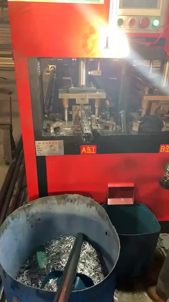 Factory manufacture metal AA 50mm double slot  pillar