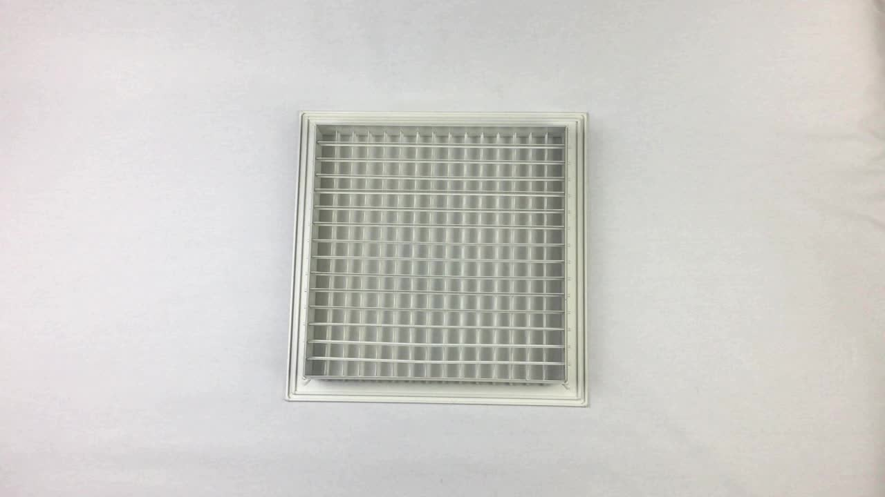 Eggcrate Air Grille/grill with removable filter