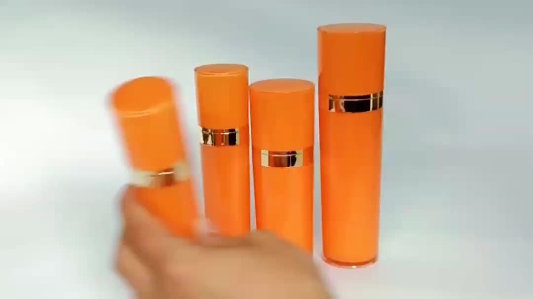 30ml 50ml 80ml 120ml empty luxury plastic double wall acrylic cosmetic bottles