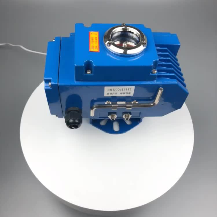 Tekanan Rendah Ductile Cast Iron 6 Listrik Sanitary Butterfly Valve untuk Air