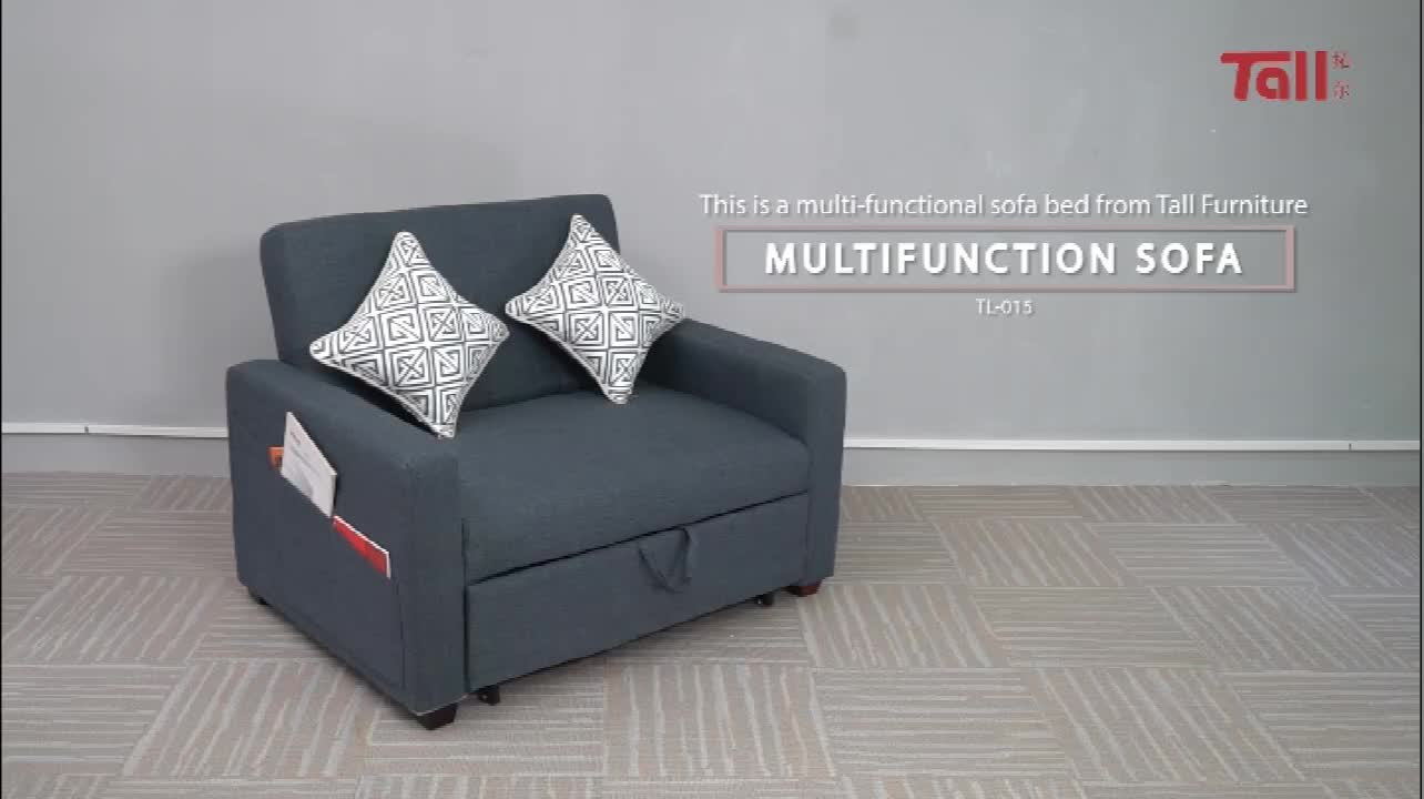 fabric sofa bed Modern sofa bed for living roomTL-015