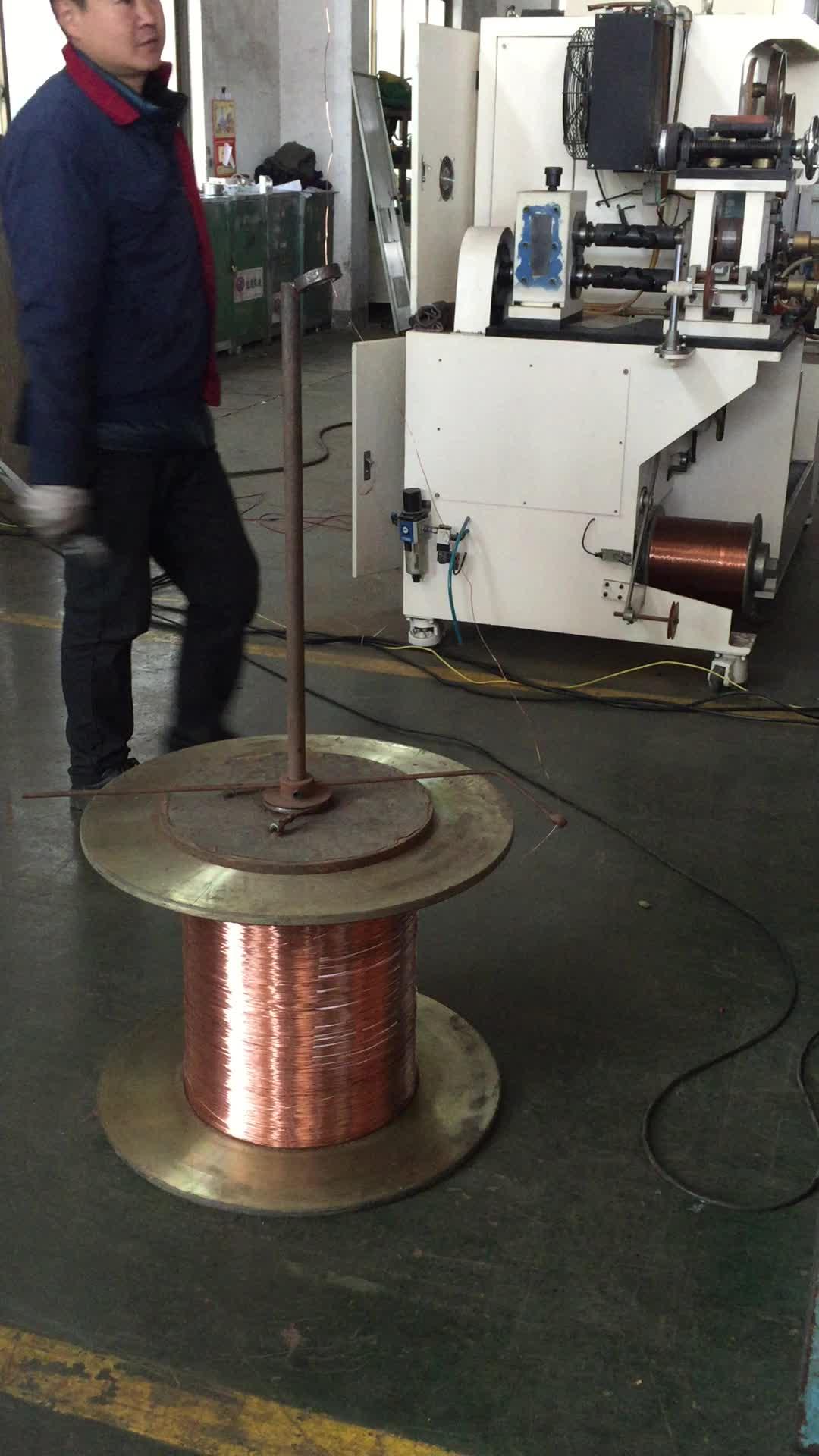 Bien, de alambre de cobre máquina de dibujo/cable de línea de producción para multi cable máquina de alambre