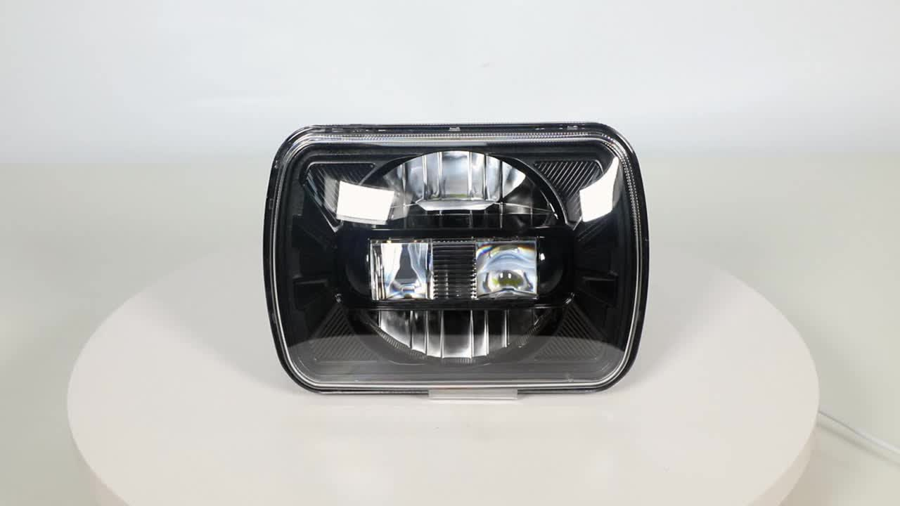 LOYO 2019 Newest 5x7 KingKong square headlight faro led cuadeado 60W 7inch headlight for car