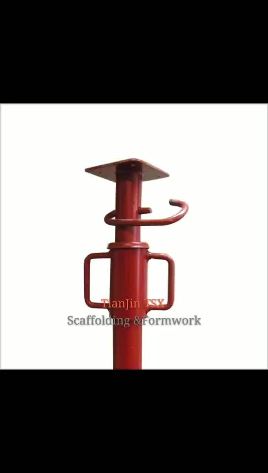 Powder Coated Puntales Metalicos Scaffolding Construction  Props For Sale Adjustable Telescopic Steel Scaffolding Props /