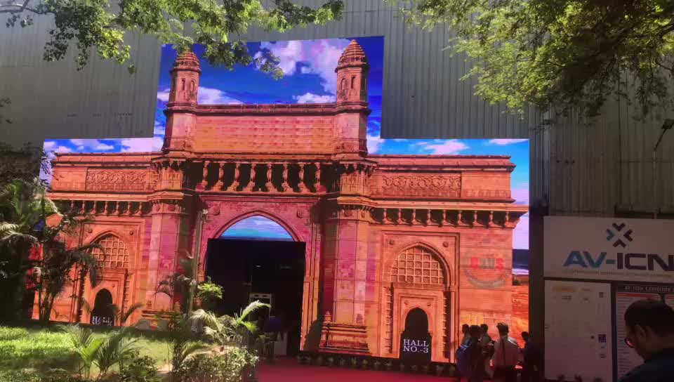 Outdoor Rental P5.95 LED Display LED Projection Screen For Rent