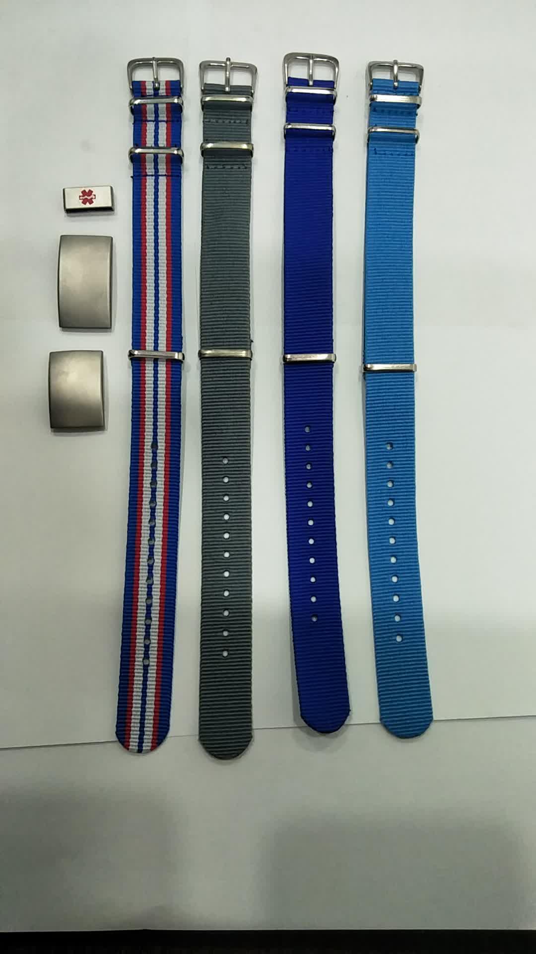 Customized Nylon Sports Bracelet