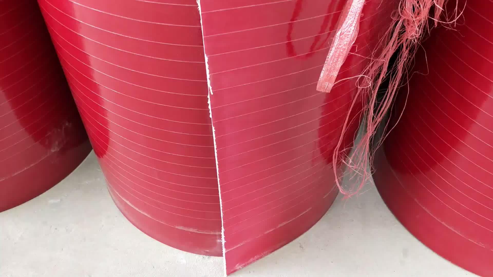 Rouge FRP Panneau de Mur de Sandwich De Toit En Fiber de verre Feuille avec le prix bon marché