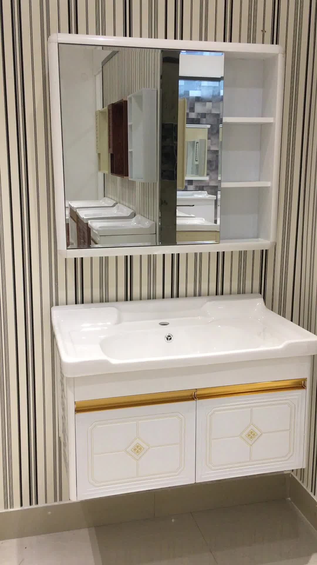 Aolaisi cheap modern style bathroom wall vanity cabinet - Cheap bathroom cabinets for sale ...