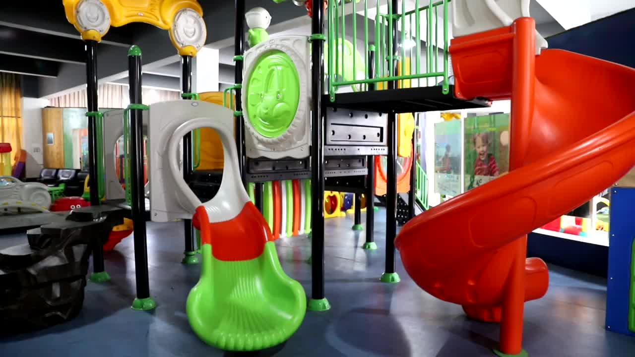 YL-S127 Jogos de Parque de Diversões Crianças Diversão Ao Ar Livre Conjuntos de Slides Plástico Playground Comercial