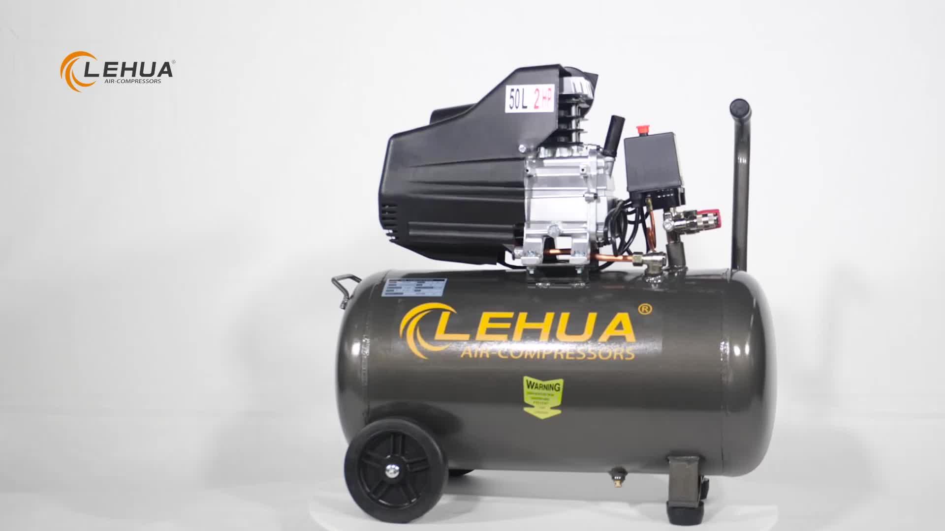 BM 50L 120L/MIN capacity direct driven air compressor