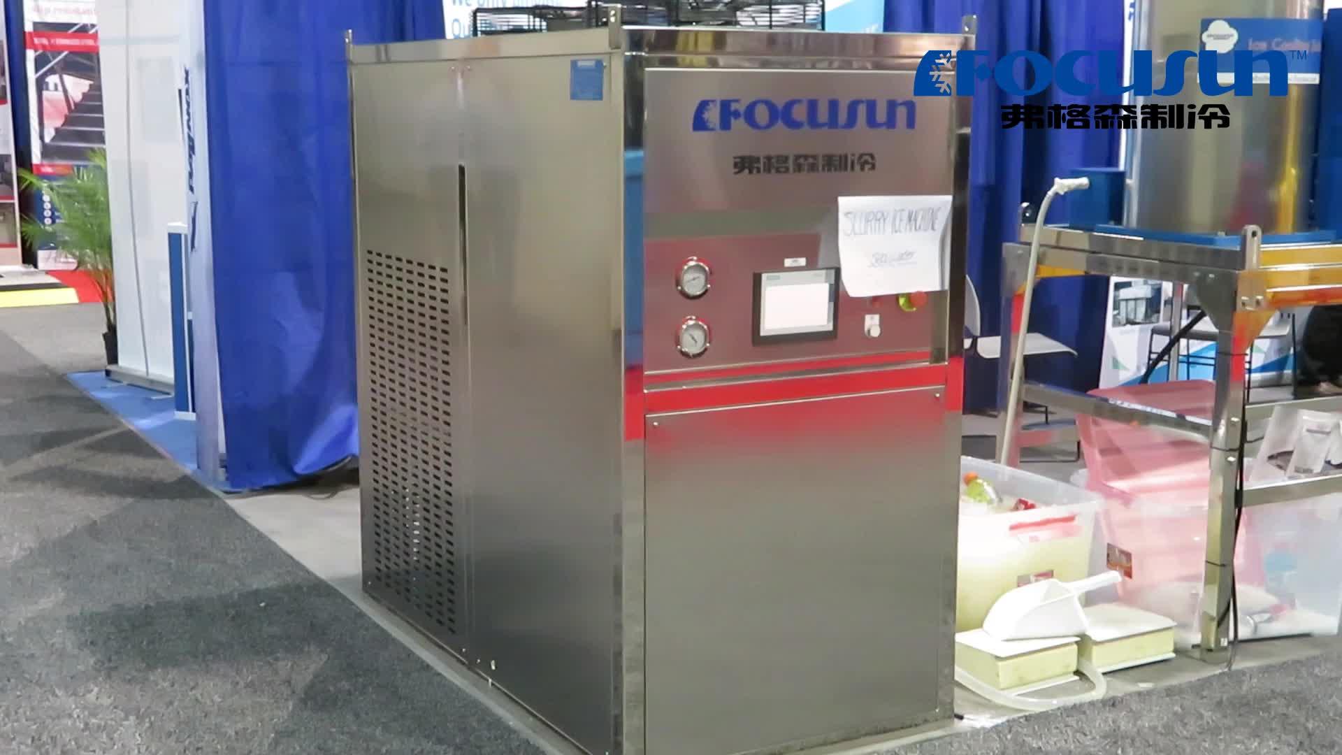Hoge uitgevoerd industriële drijfmest ijsmachine