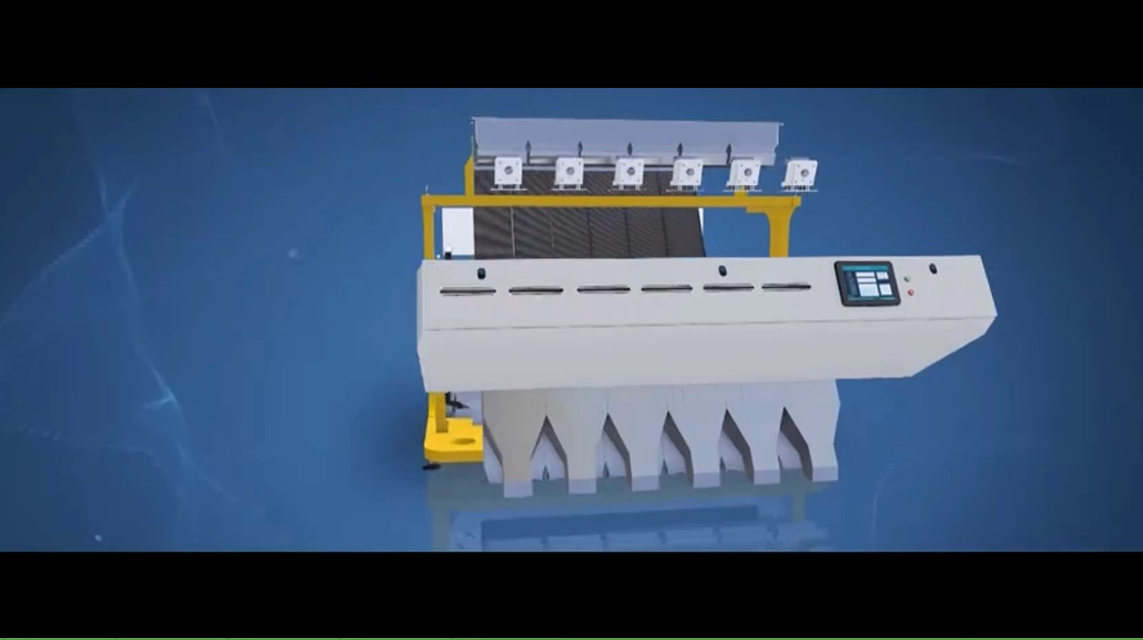 Color sorter ejector valve horizontal spare parts ccd boards ancoo rice price machine malaysia