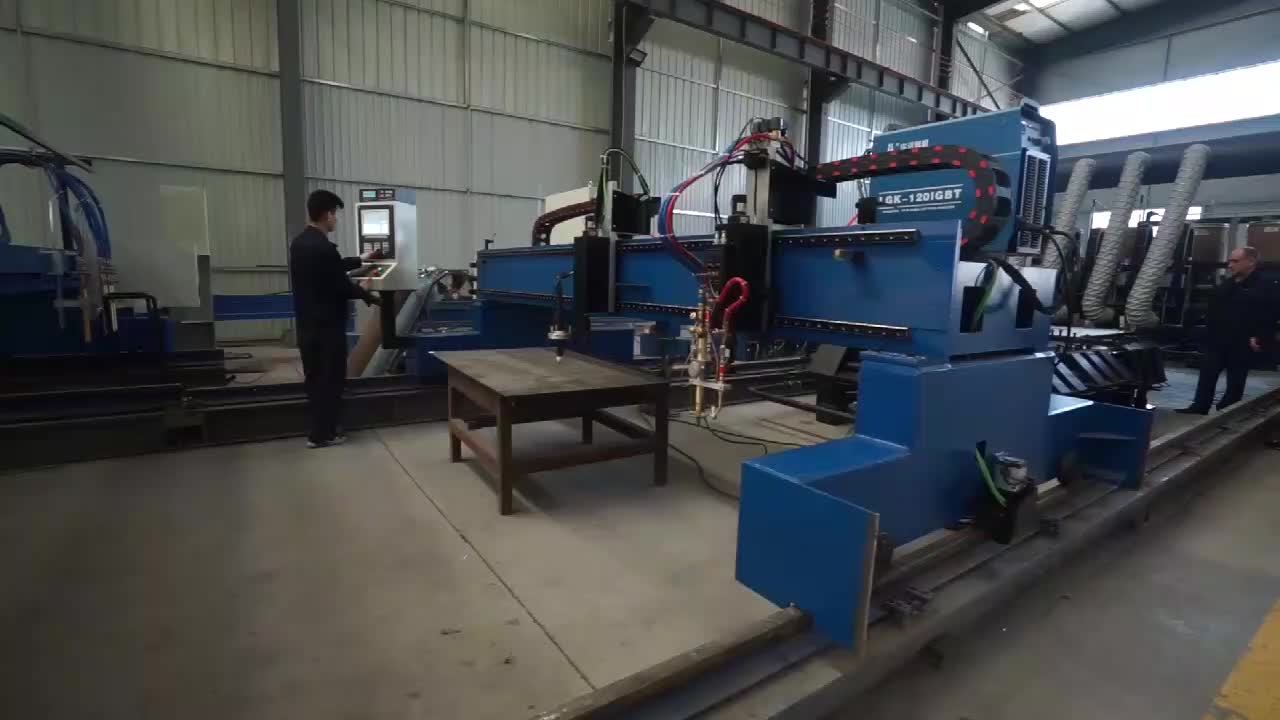 Hot Koop Gantry CNC Plasma En Flame Snijmachine Gemaakt In China