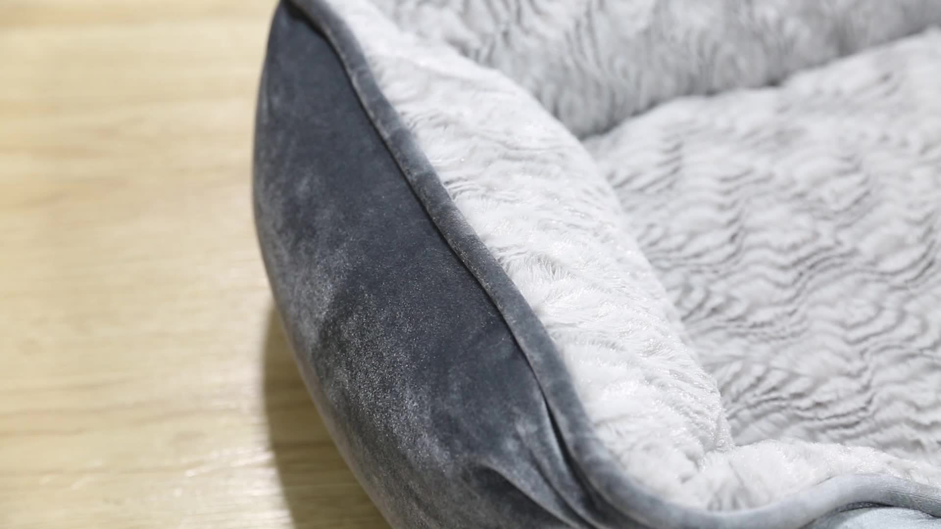 Factory Direct Wholesale Foldable pet dog beds luxury dog sofa bed