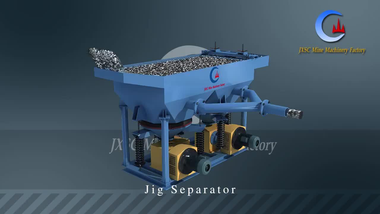 High Efficient Gravity Separation Equipment Gold Copper