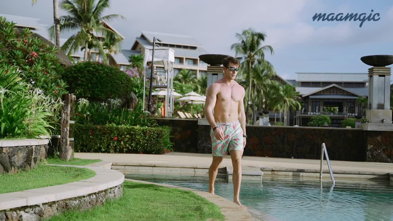 ที่กำหนดเองพิมพ์ฤดูร้อนท่องบุรุษกางเกงขาสั้นบอร์ดชายกางเกงว่ายน้ำ