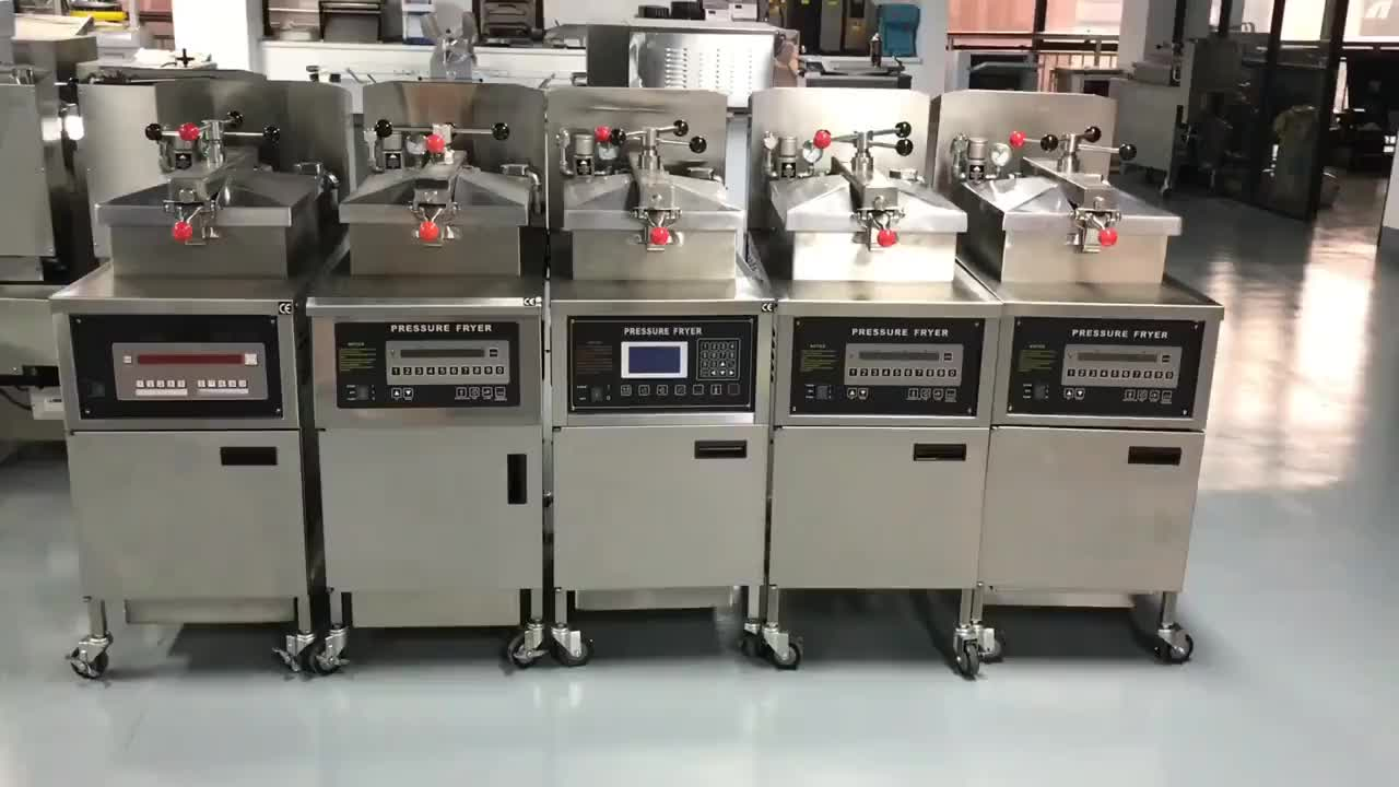 Factory Price Commercial French Fries Machine/Deep Fat Pressure Fryer/Electric Deep Fryer For Fried Chicken PFE-600L