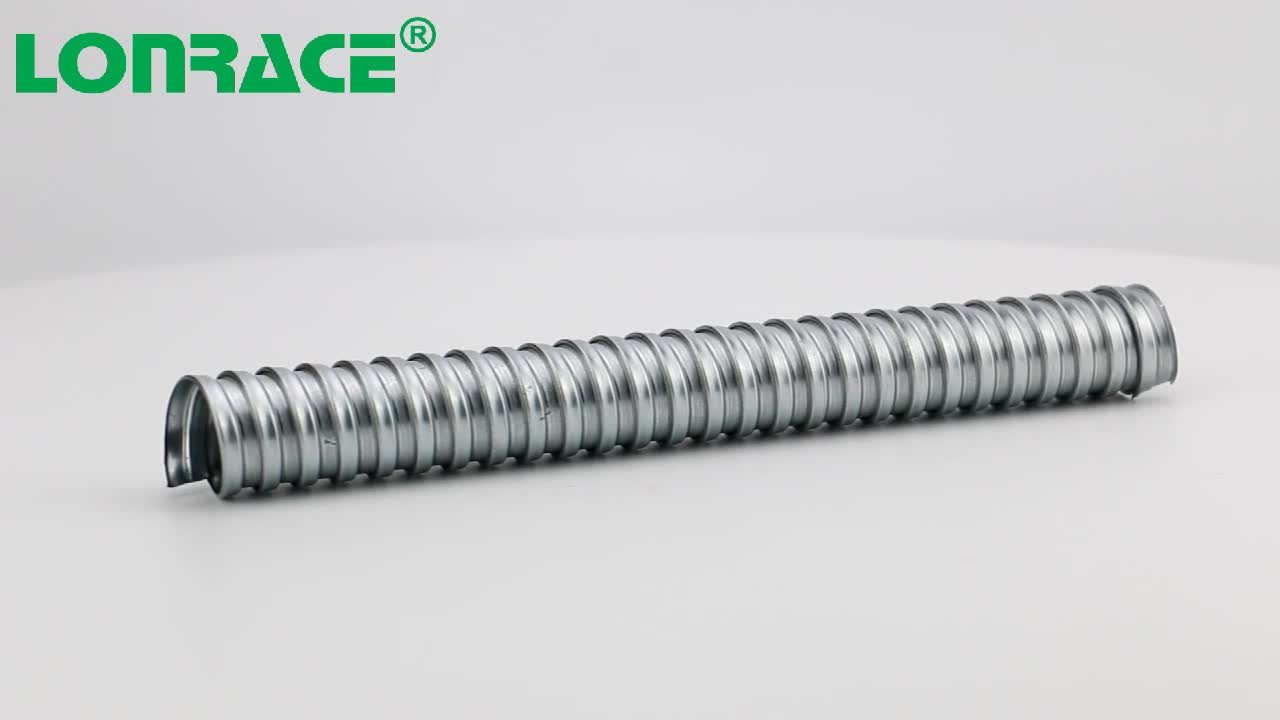 high quality flexible steel conduit pipe