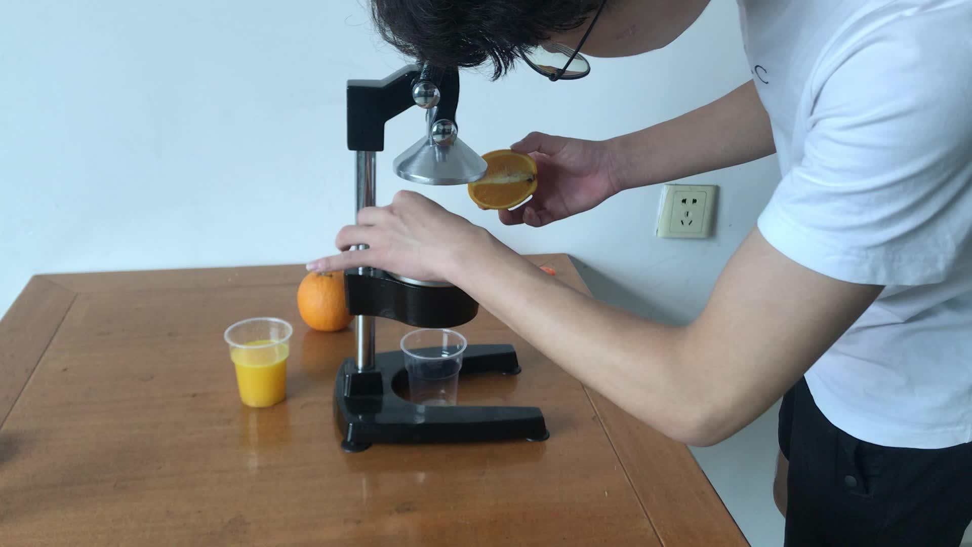 ราคาถูกคุณภาพสูง Hand Juicer Orange Lemon Citrus Juice Extractor
