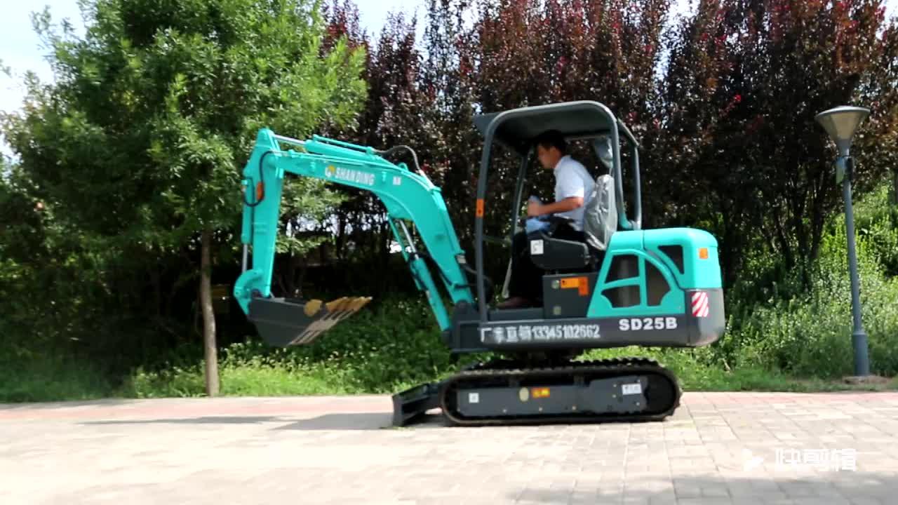 Certificación CE y condición Japón mini excavadora