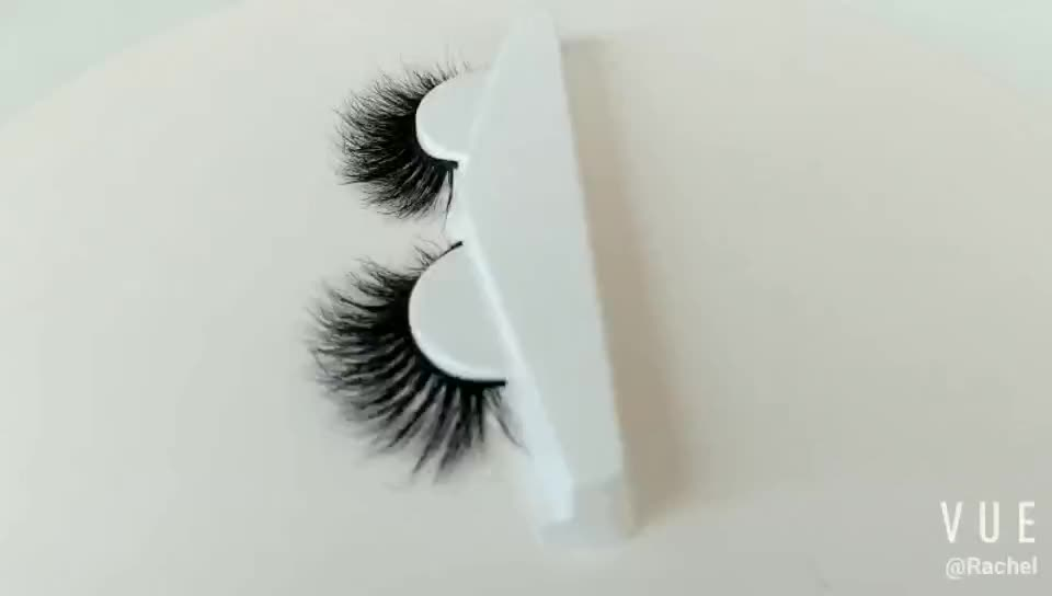 Luxury Handmade OEM Natural Private Label 3D Mink Eyelashes