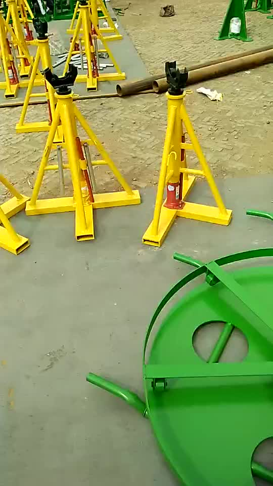 Hydraulic Cable Drum Jacks, Cable Jack Stand