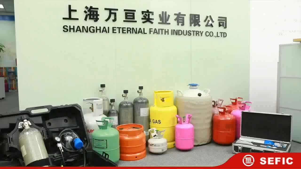 High Quality 30LB Small Disposable Helium Gas Cylinder/Tank