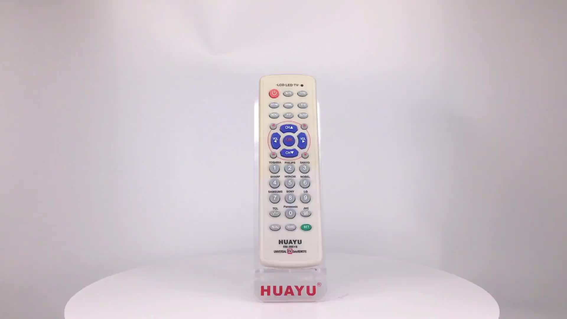 RM-36E + S PHỔ TV ĐIỀU KHIỂN TỪ XA