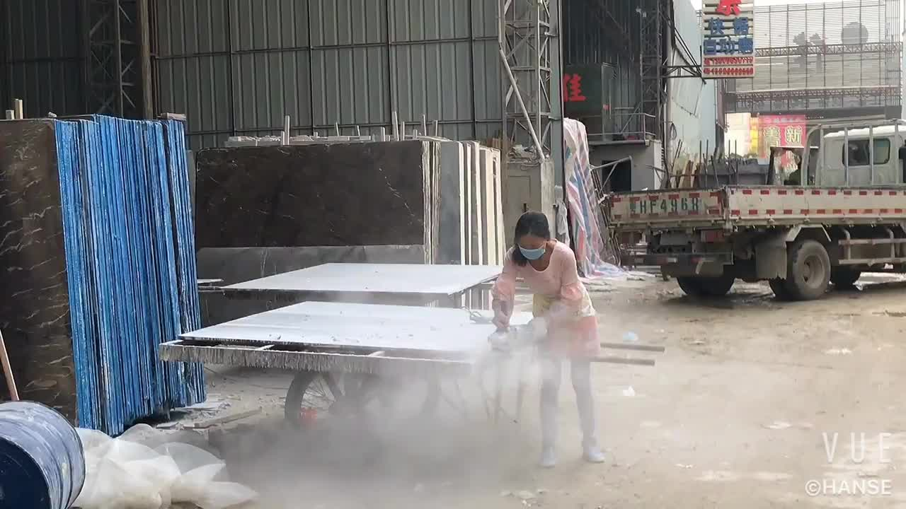 メーカーの中国アテネ木目白グレー大理石